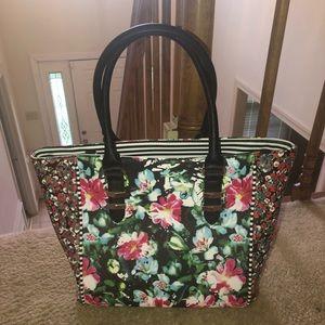 Aldo floral multicolored handbag